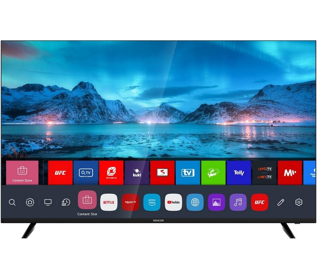 SLE 55US800TCSB UHD SMART TV SENCOR