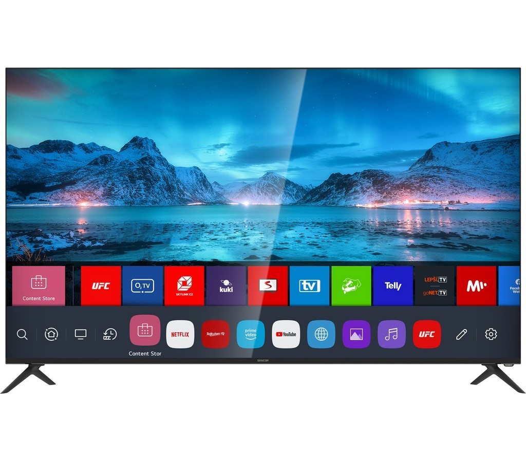 SLE 65US800TCSB UHD SMART TV SENCOR