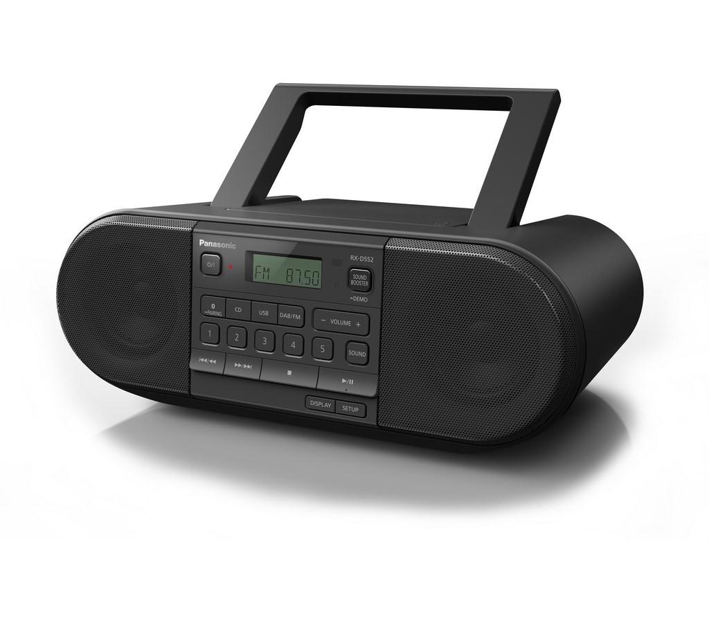RX D552E-K PŘEN.RÁDIO CD/DAB+ PANASONIC