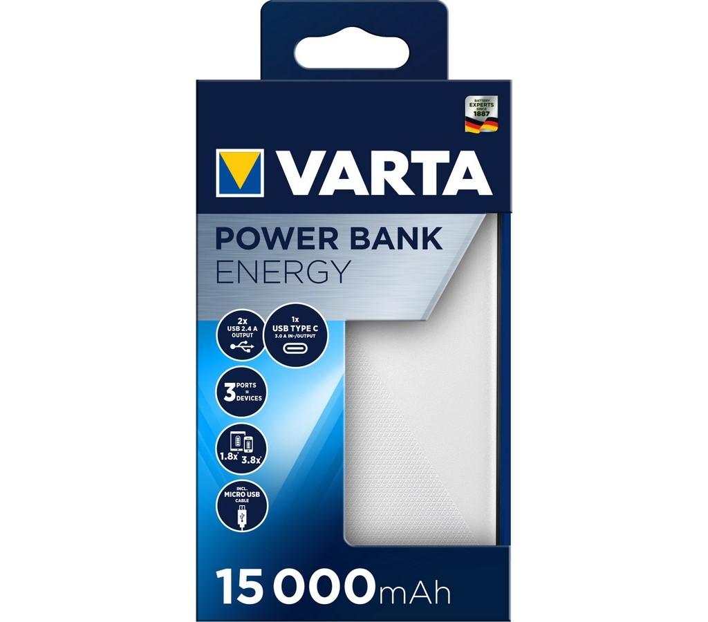 Power Bank Energy 15000 mAh VARTA