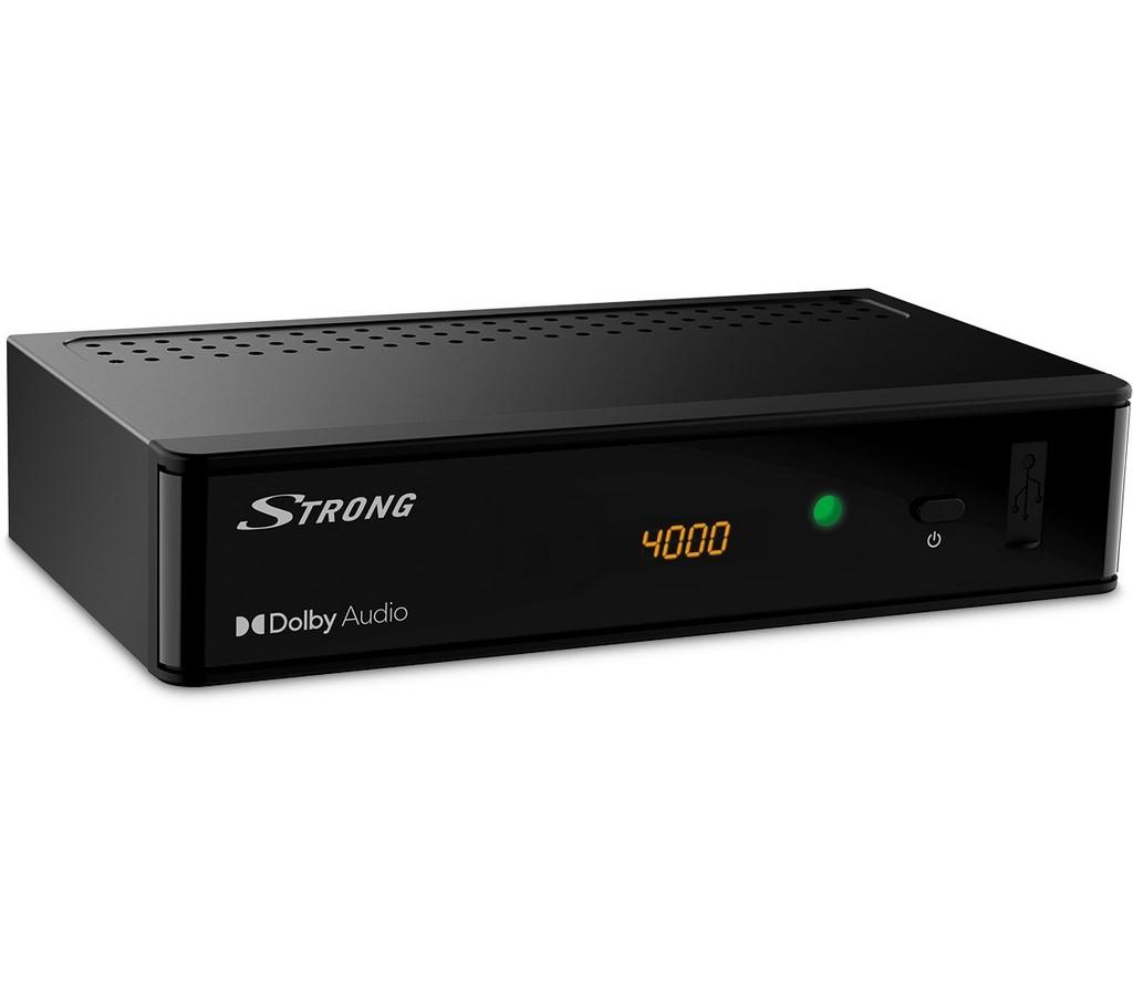 SRT 8215 HD DISPLEJ DVB-T2 HEVC STRONG