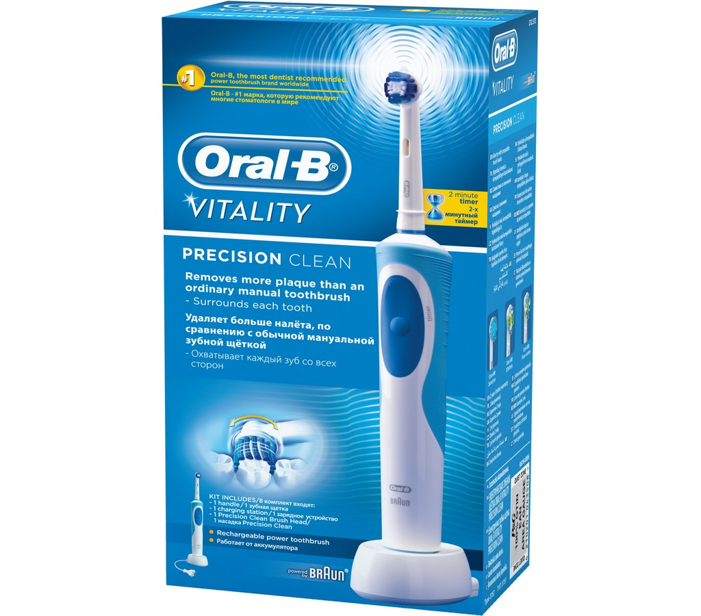 VITALITY CROSS ACTION (D12.513) ORAL B