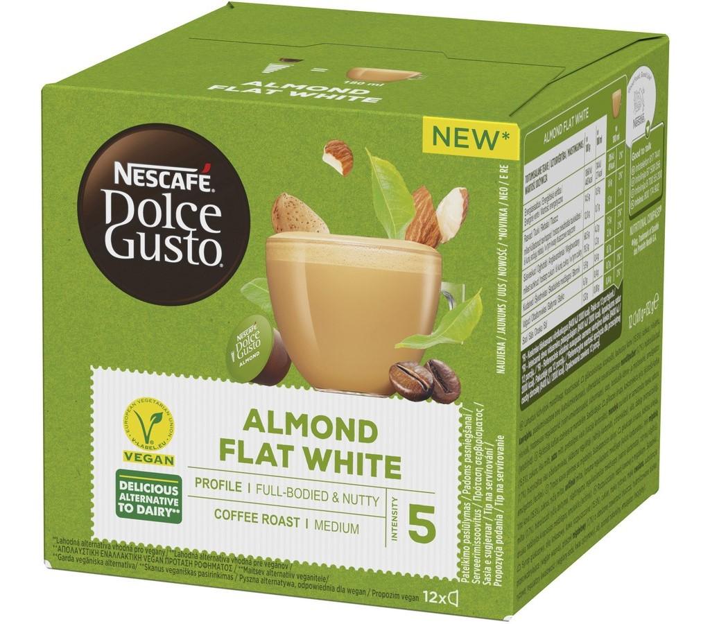 DOLCE G. ALMOND FLAT WHITE 12KS NESCAFÉ