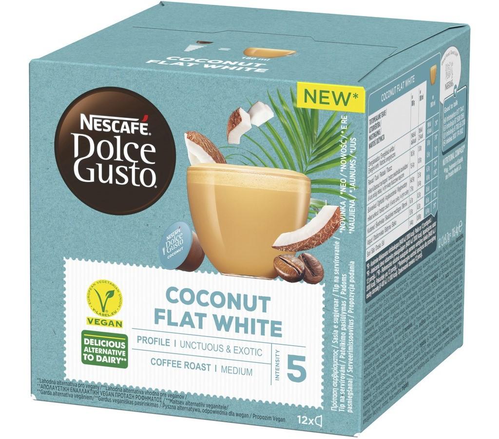 DOLCE G. COCONUT FLAT WHITE 12KS NESCAFÉ