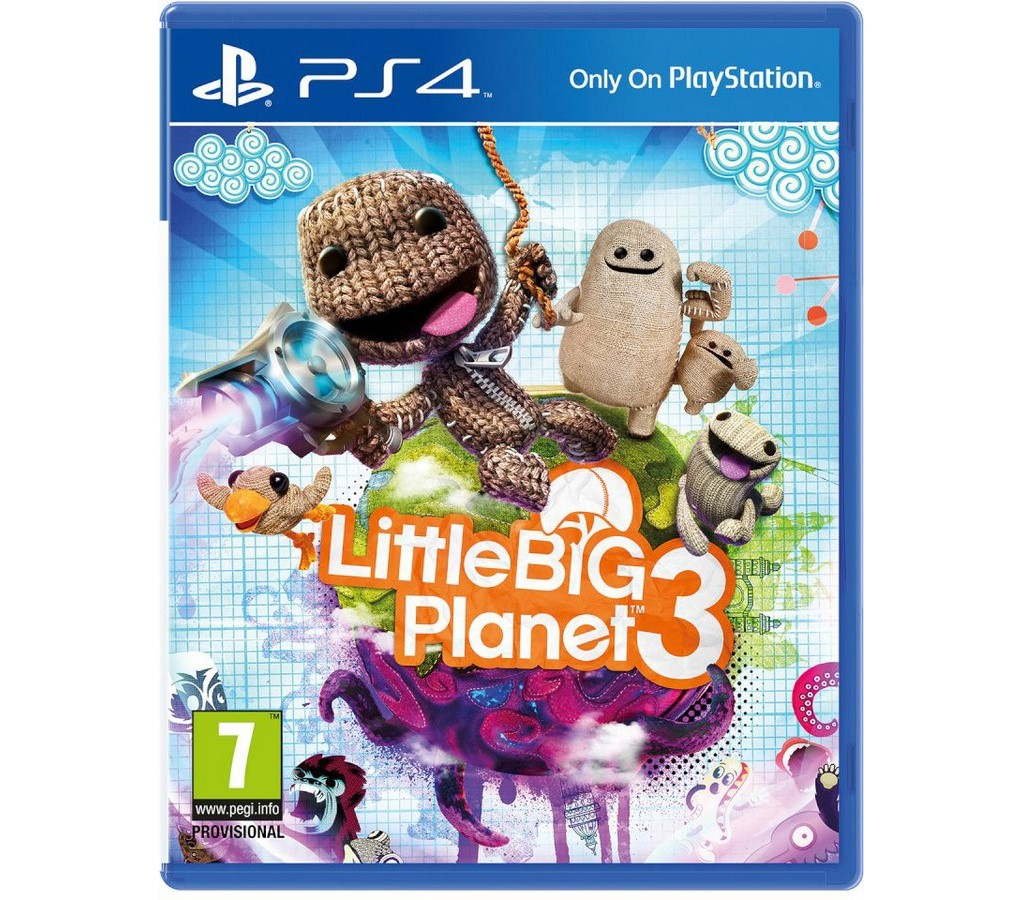 LittleBigPlanet 3 hra PS4 SONY