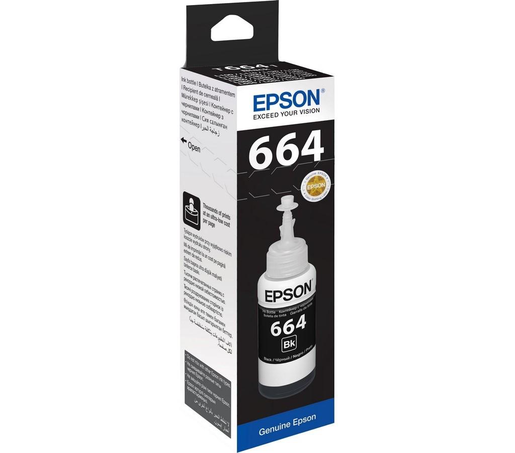 T6641 Black ink 70ml pro L365/386 EPSON