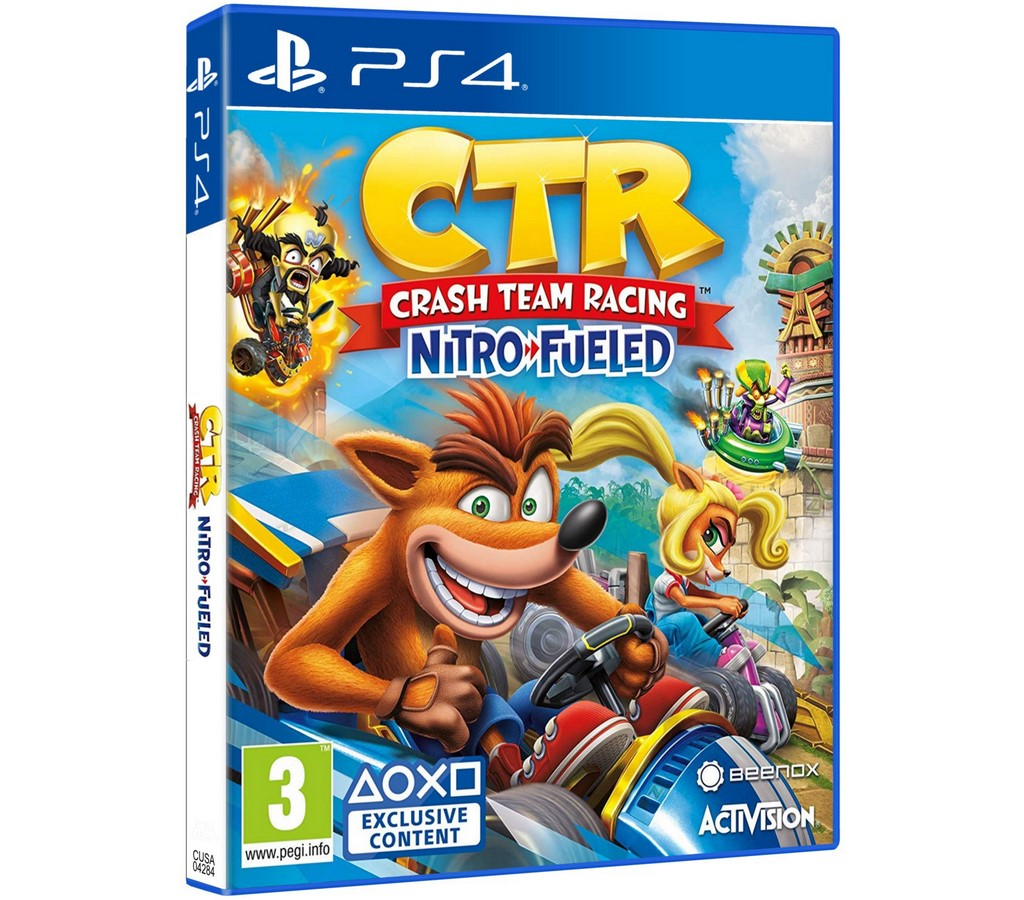 Crash Team Racing Nitro-Fueled hra PS4