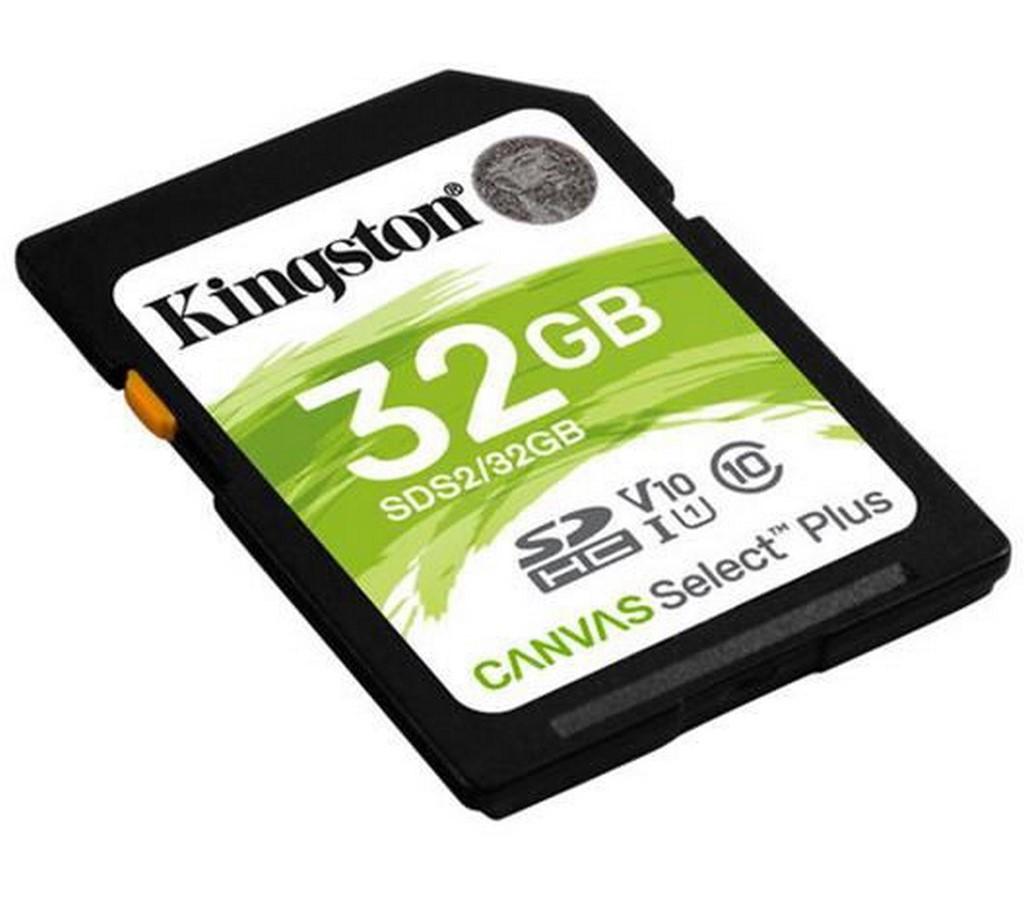 SDHC 32GB CL10 UHS-I SDS v2 KINGSTON