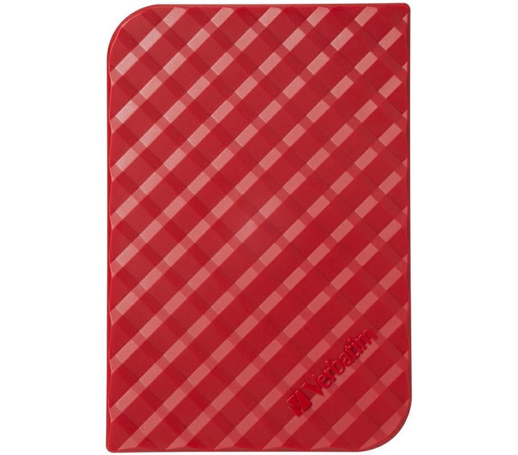 HDD 1TB USB 3.0 červený 53203 VERBATIM