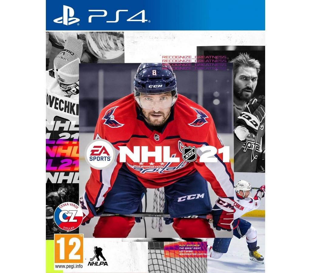NHL 21 hra PS4 EA