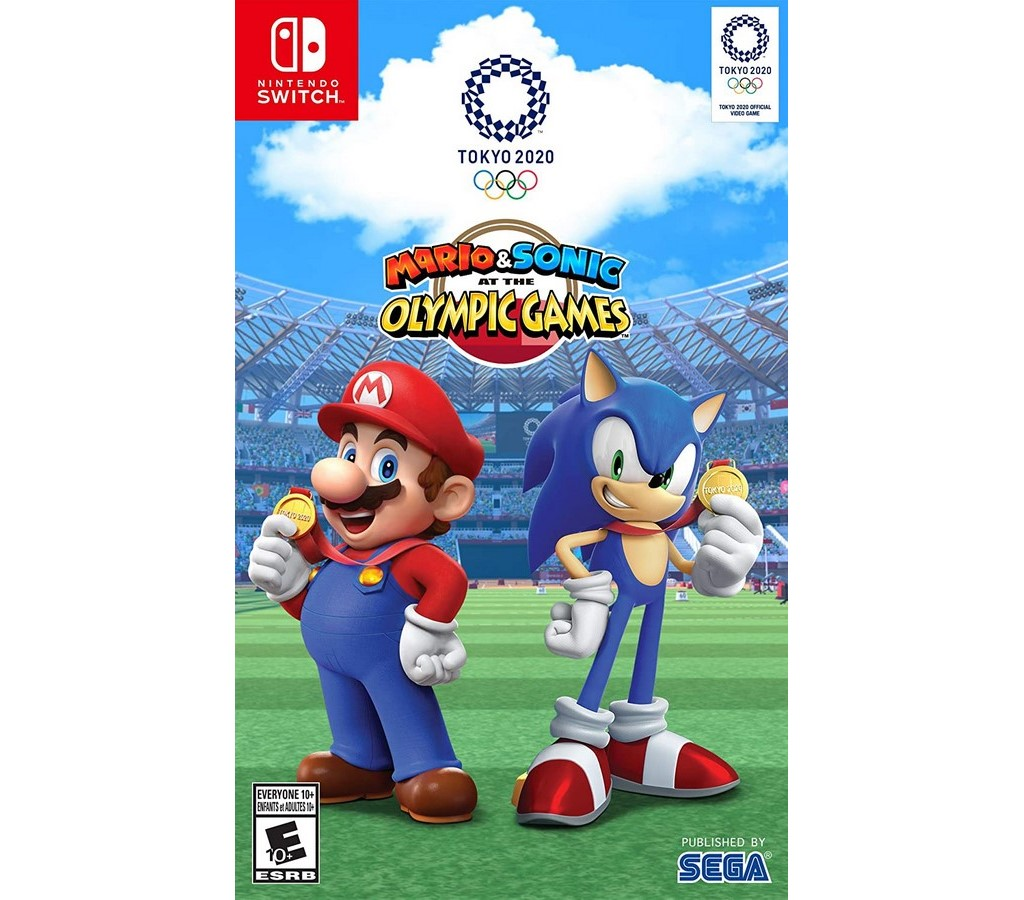 Mario & Sonic at the Tokyo Olymp. Game