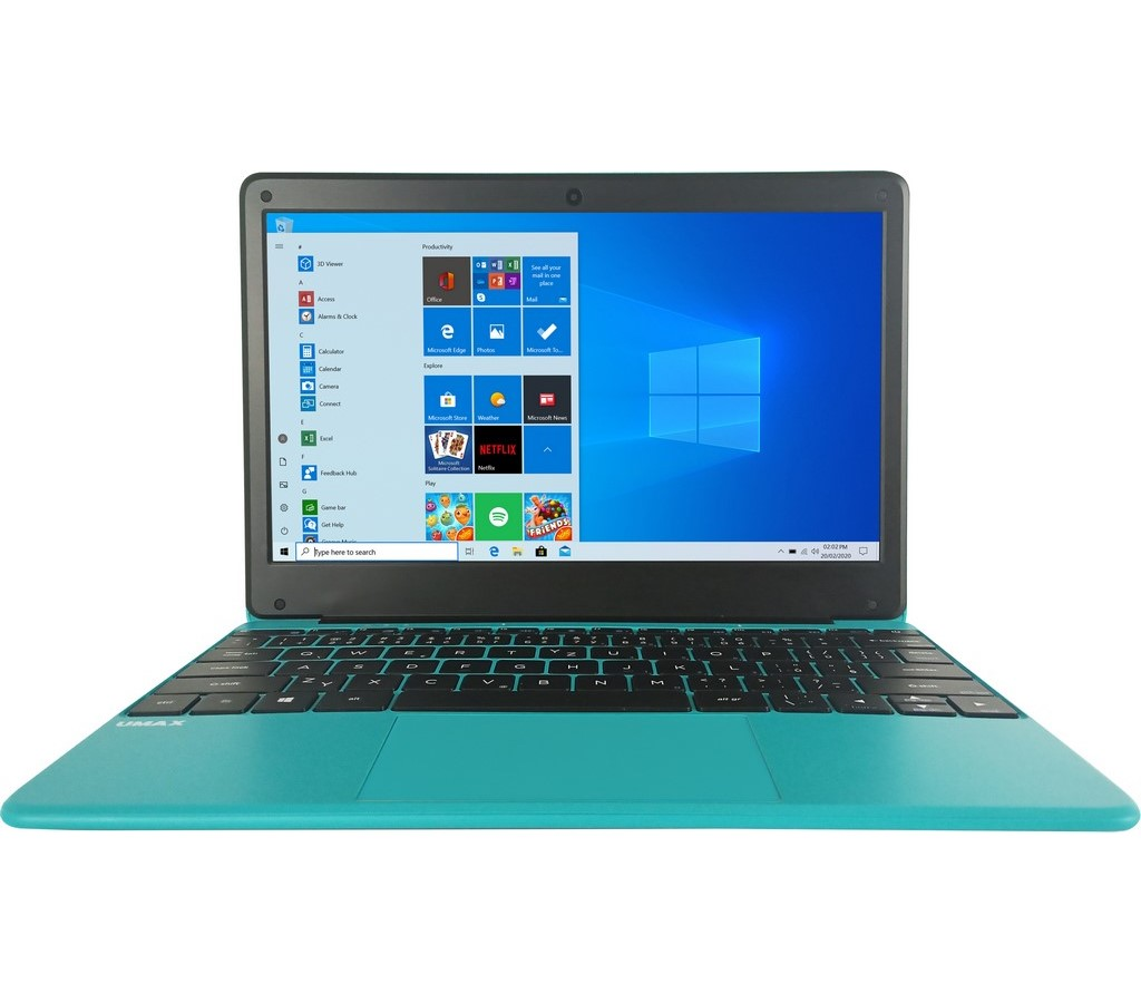 VisionBook 12Wr Turq 4G 64G W10Pro UMAX