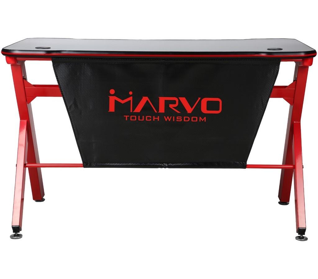 Herní stůl DE-03 RGB podsvícení MARVO