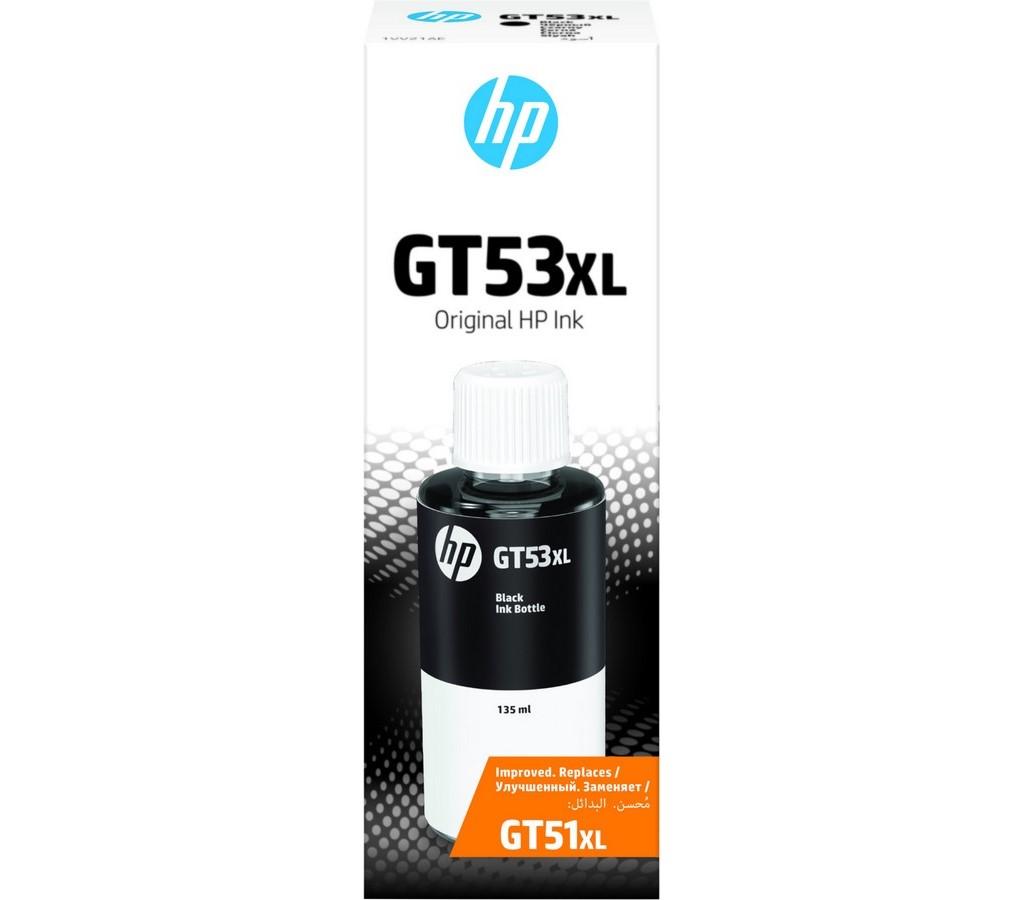GT53XL černá lahvička s ink. HP