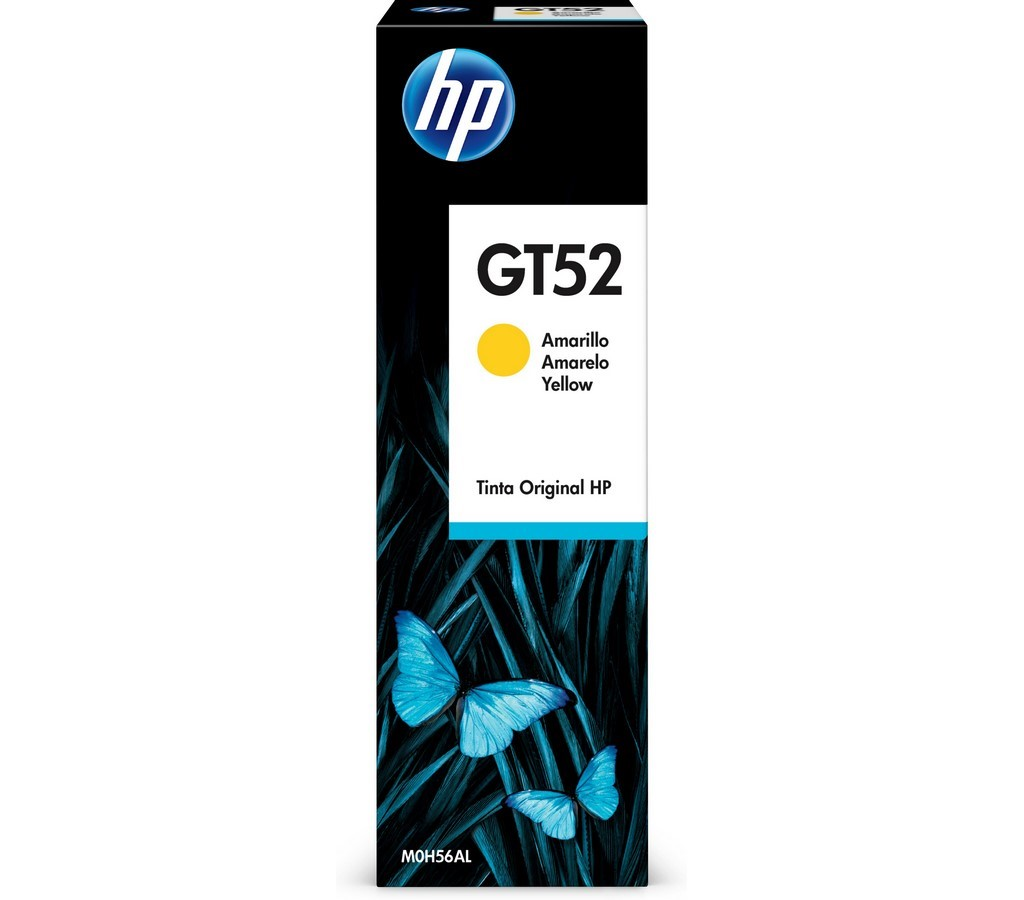 GT52 - žlutá lahvička s ink. HP