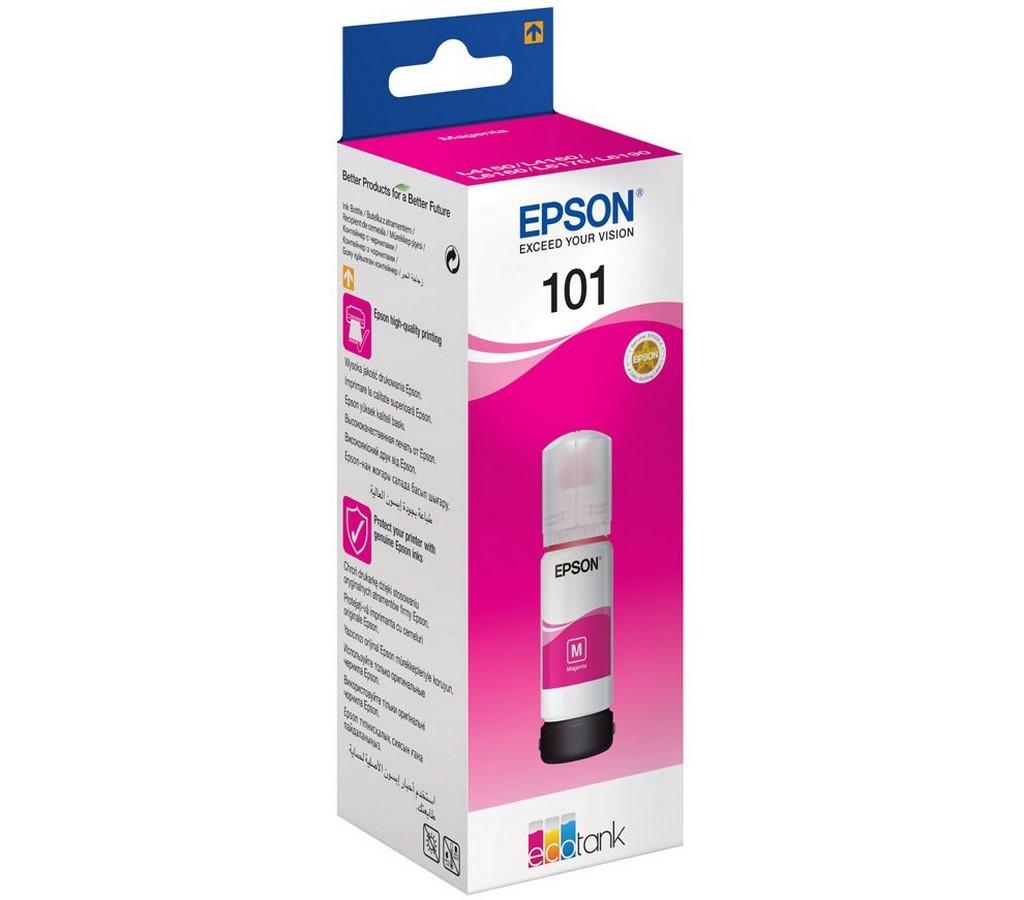 101 EcoTank Magenta ink bottle EPSON