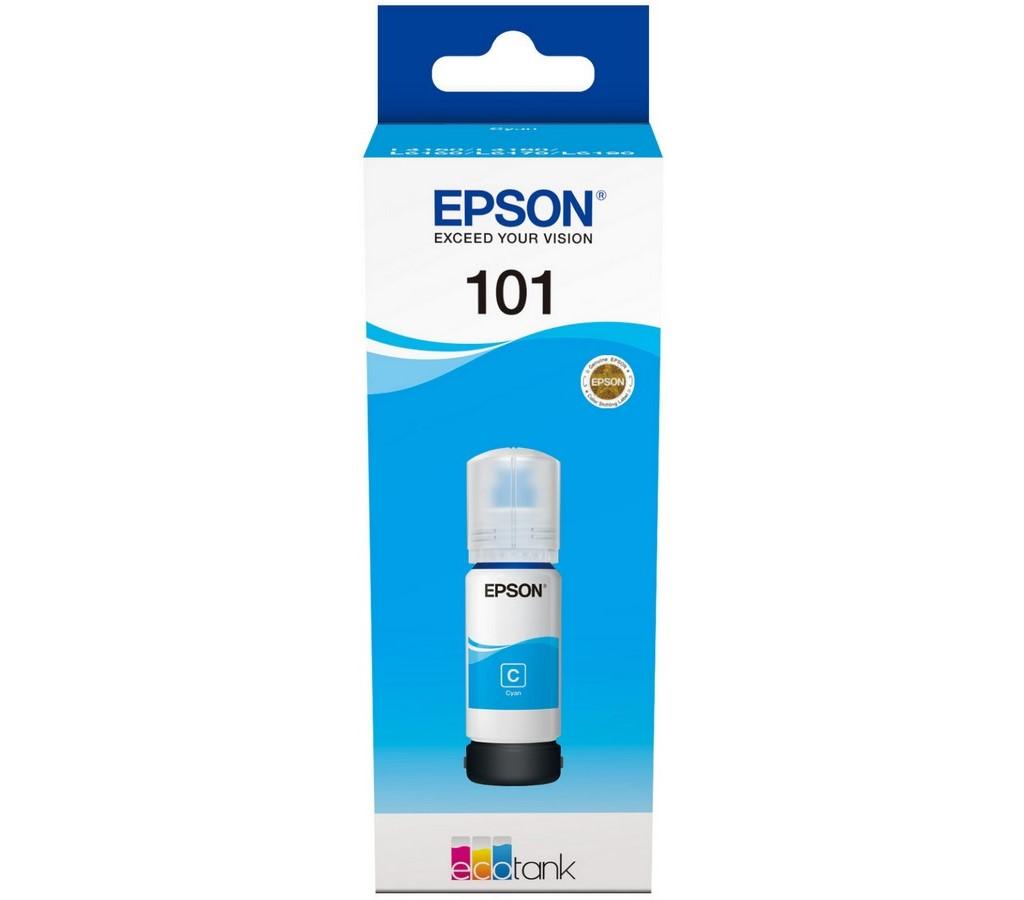 101 EcoTank Cyan ink bottle EPSON