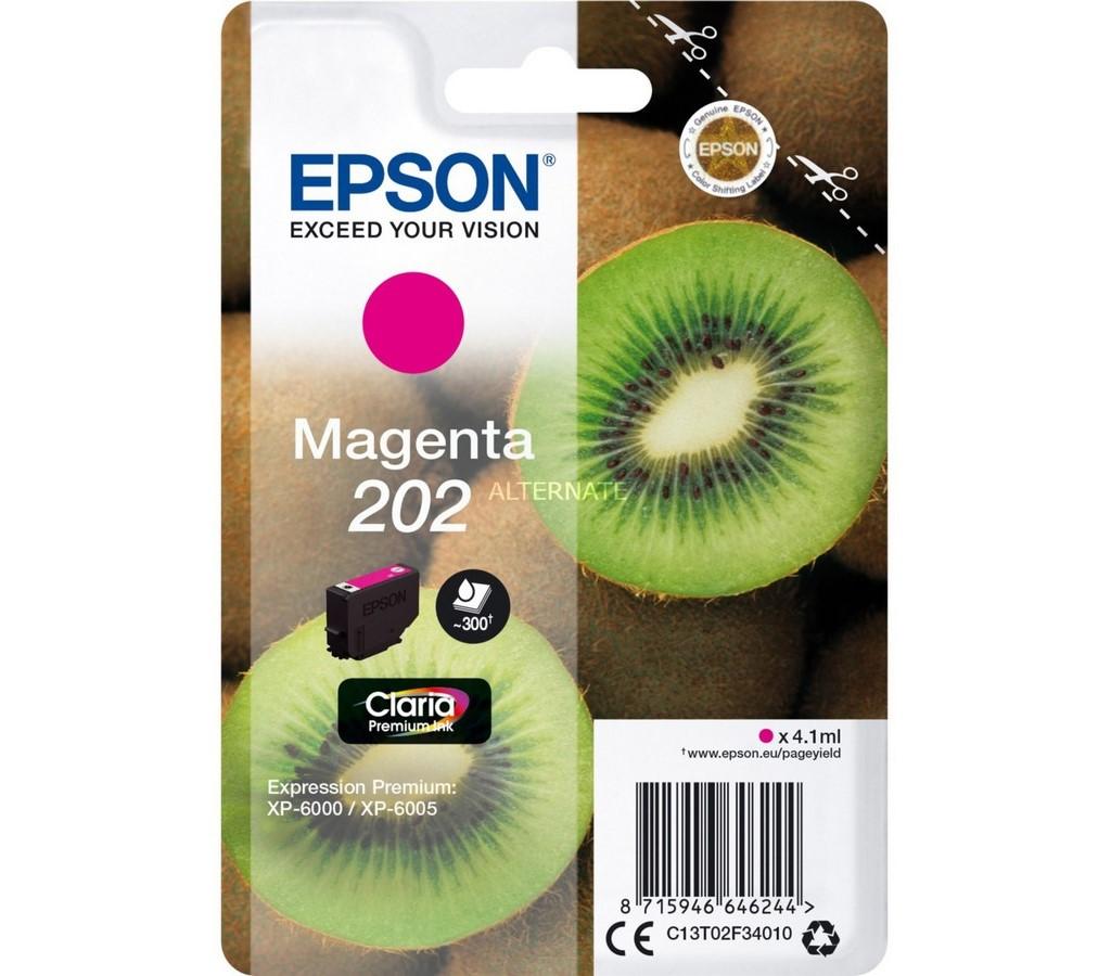 202 Magenta Premium Ink EPSON