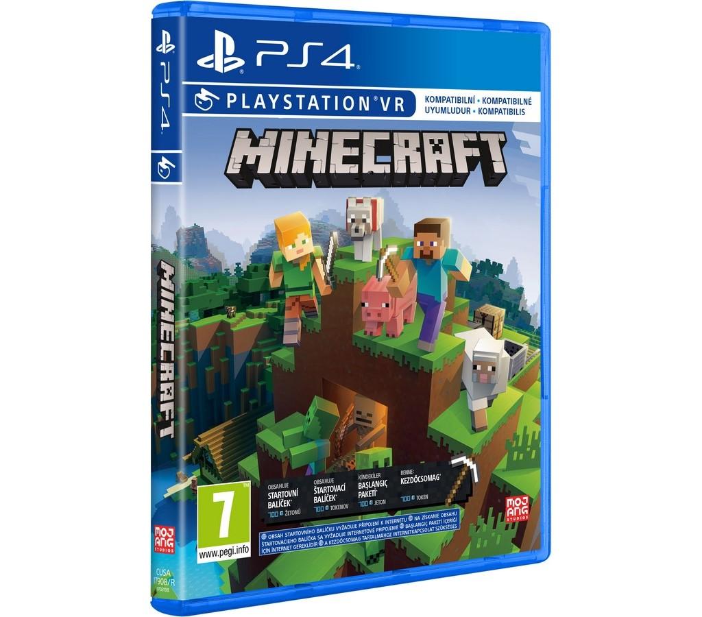 Minecraft Starter Col Refresh hra PS4