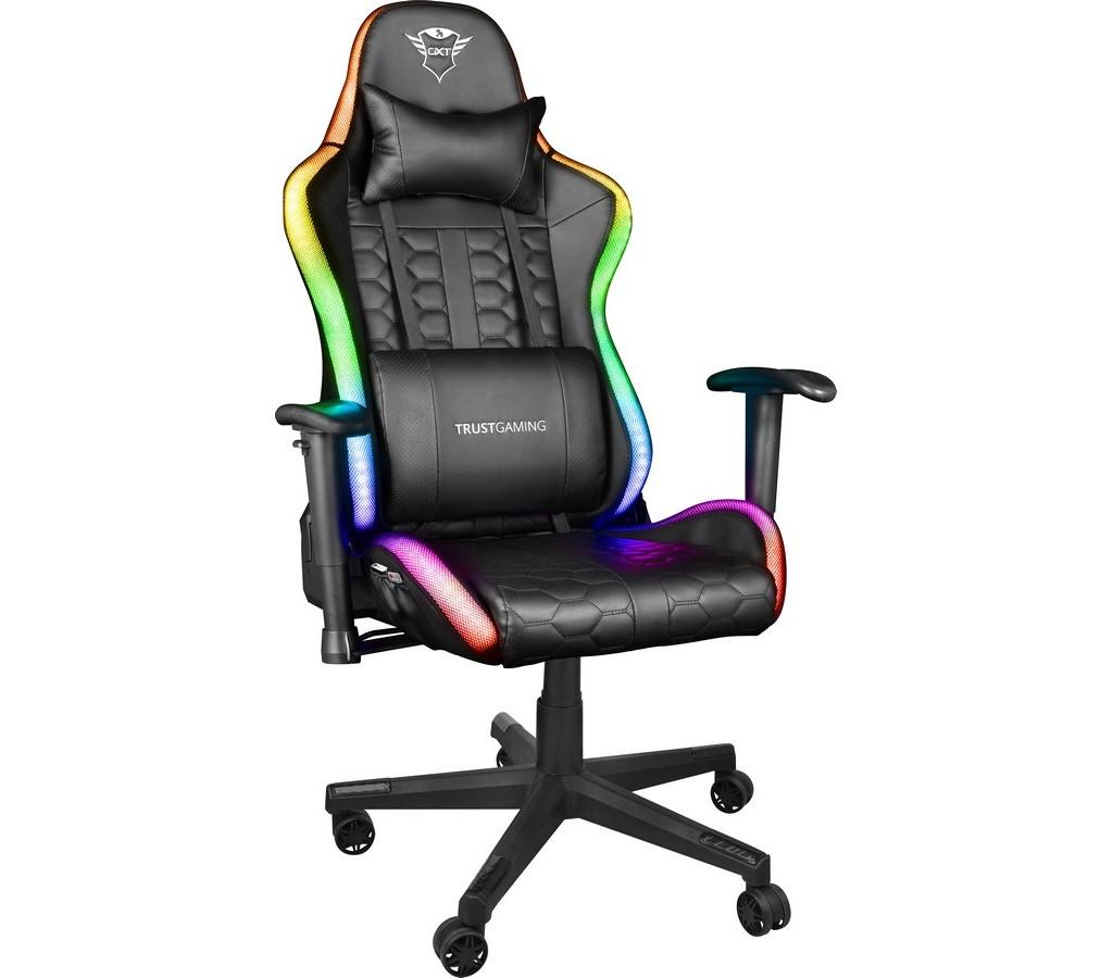GXT716 Rizza RGB Gaming Chair TRUST