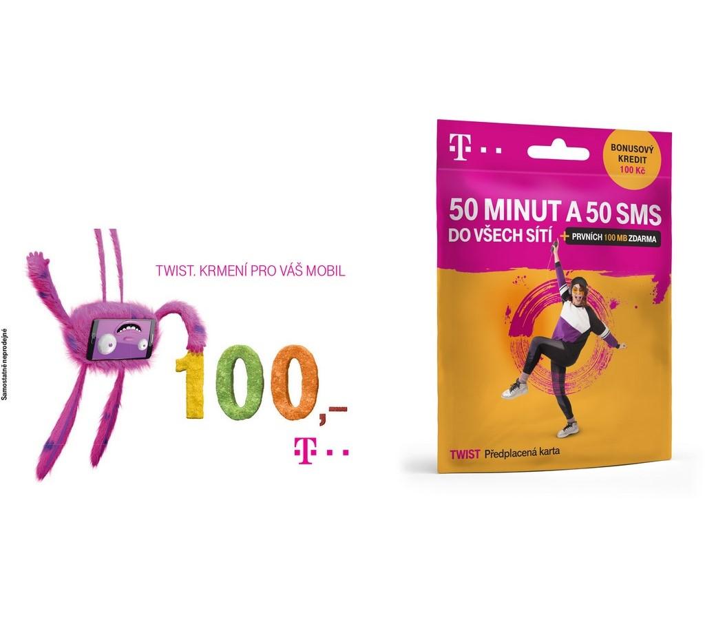 Twist sim + Twist kupon 100Kč
