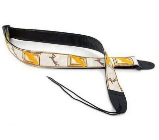 099-0683-000 Strap, White/Brown/Yellow