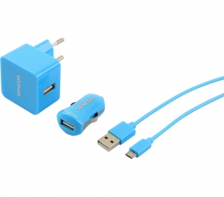 SCO 516-000BL USB KIT 1M/WALL/CAR SENCOR