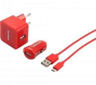 SCO 516-000RD USB KIT 1M/WALL/CAR SENCOR