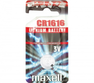 CR1616 1BP Li MAXELL