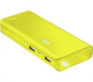 PRIMO Power bank 10000 mAh yellow TRUST