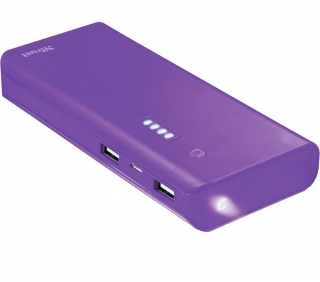 PRIMO Power bank 10000 mAh purple TRUST