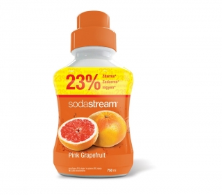 Příchuť Pink Grapefruit 750ml SODASTREAM