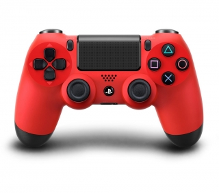 DUAL SHOCK PS4 red