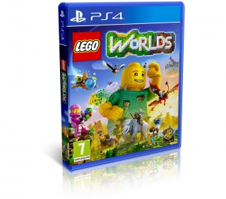 LEGO Worlds hra PS4 Warner Bros