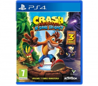 Crash Bandicoot N.Sane Trilogy hra PS4